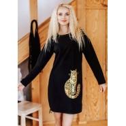 Женское Домашнее Платье KEY LHD 742 B19