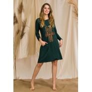 Женское Домашнее Платье KEY LHD 887 1 B20