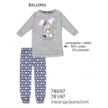 Детская пижама 780/97 BALLONS